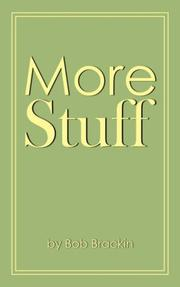 Cover of: More Stuff