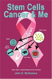 Cover of: Stem Cells Cancer  and  Me