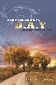 Cover of: Anticipating A New Day | Pia G. Jones