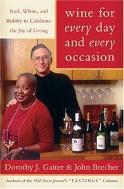 Cover of: Wine for every day and every occasion