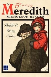 Cover of: A Meredith Nicholson Reader