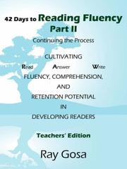 Cover of: 42 Days to Reading Fluency Part II