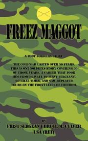 Cover of: Freeze Maggot | Bruce M. Culver
