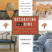 Cover of: Decorating on a dime | Christy Ferer