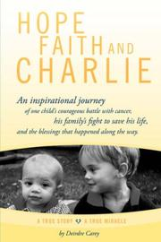 Cover of: Hope, Faith and Charlie | Deirdre Carey