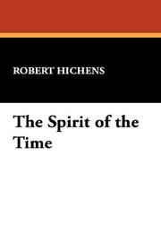 Cover of: The Spirit of the Time