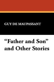 "Cover of: ""Father and Son"" and Other Stories"