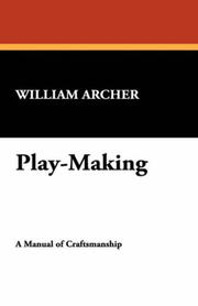 Cover of: Play-Making | William Archer