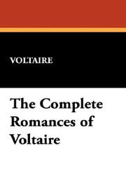 Cover of: The Complete Romances of Voltaire | Voltaire