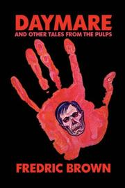Cover of: Daymare and Other Tales from the Pulps