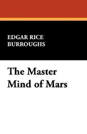 Cover of: The master mind of Mars