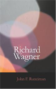 Cover of: Richard Wagner