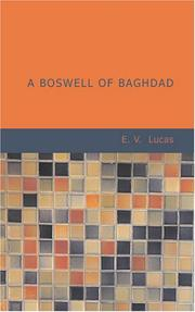 Cover of: A Boswell of Baghdad: with diversions.