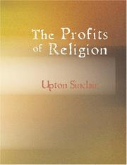 Cover of: The Profits of Religion Fifth Edition: An Essay in Economic Interpretation