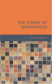 Cover of: The Power of Womanhood