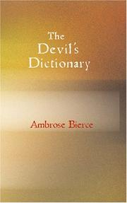 Cover of: The Devil\'s Dictionary