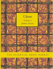 Cover of: Ulysses. Volume 1