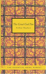 The Great God Pan by Arthur Machen