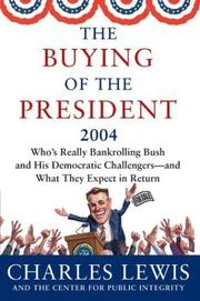 Cover of: The Buying of the President 2004