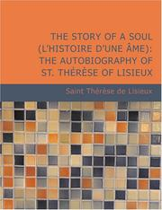 Cover of: The Story of a Soul