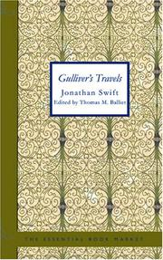 Cover of: Gulliver's Travels: Into Several Remote Regions of the World