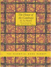 Cover of: The House of the Combrays