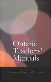 Ontario Teachers/ Manuals