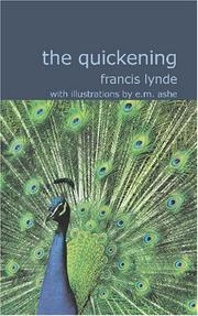 Cover of: The Quickening | Lynde, Francis