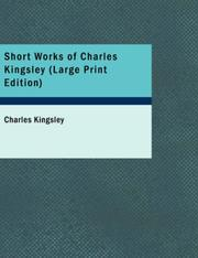 Cover of: Short Works of Charles Kingsley