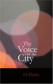 Cover of: The Voice of the City