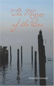 Cover of: The Mirror of the Sea | Joseph Conrad
