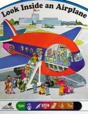 Cover of: Look inside an airplane