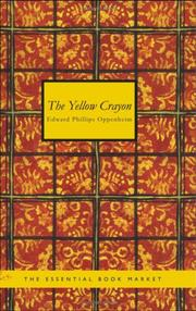 Cover of: The Yellow Crayon