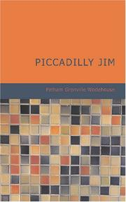 Cover of: Piccadilly Jim | P. G. Wodehouse