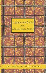Cover of: Legends and Lyrics Part 1