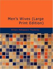Cover of: Men's Wives