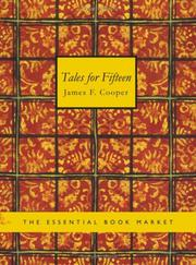 Cover of: Tales for Fifteen: or Imagination and Heart