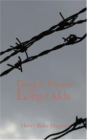 Cover of: Doctor Therne and Long Odds