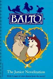 Cover of: Balto/jr Novelization