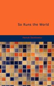 Cover of: So Runs the World