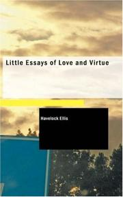 Cover of: Little Essays of Love and Virtue