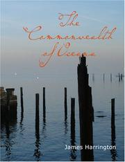 Cover of: The Commonwealth of Oceana (Large Print Edition) | James Harrington