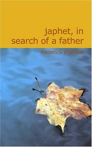 Cover of: Japhet in Search of a Father | Frederick Marryat