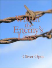 Cover of: Within the Enemy's Lines (Large Print Edition): SERIES