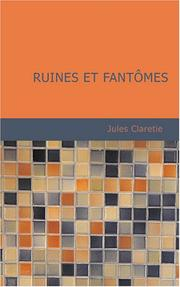 Cover of: Ruines et fantômes