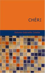 Cover of: Chéri