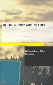 Cover of: In the Rocky Mountains