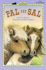 Cover of: Pal and Sal