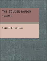 The Golden Bough Volume 2 (Large Print Edition)