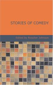 Cover of: Stories of Comedy